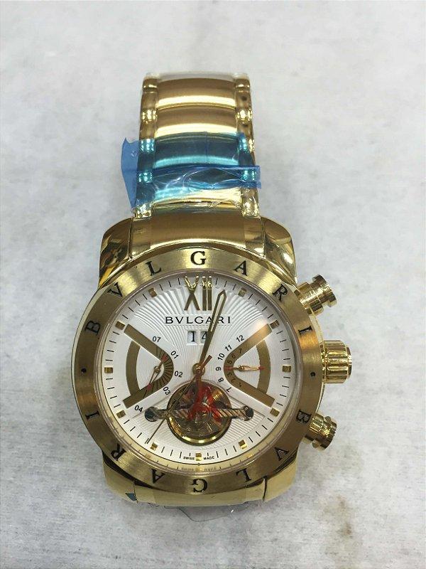 d219eafae03 relógio bvlgari automatico iron man - shoppmoes