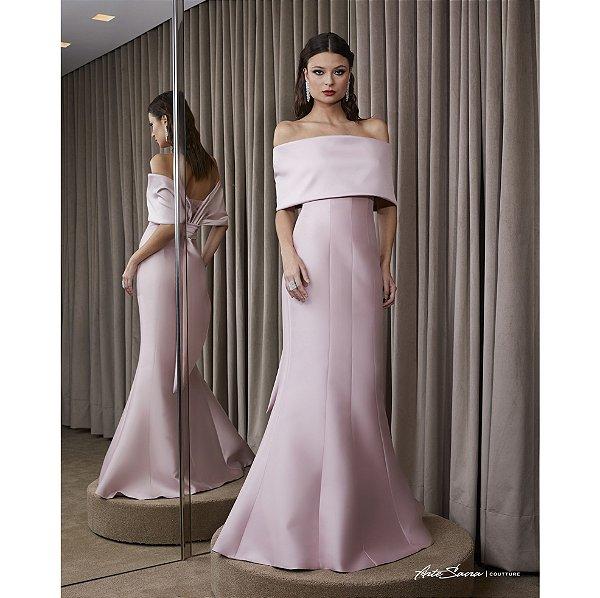 Vestido Longo Tomara Que Caia Arte Sacra - Rosê
