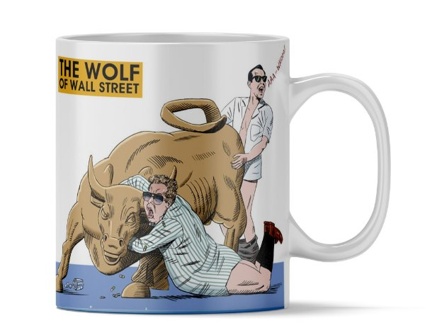 Caneca personalizada The Wolf Wall street