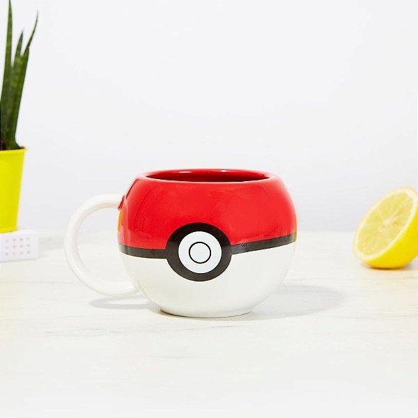 Caneca Pokebola 3D  - Pokémon