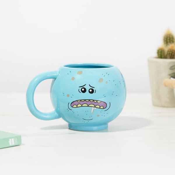 Caneca Mr. Meeseeks 3D - Rick and Morty