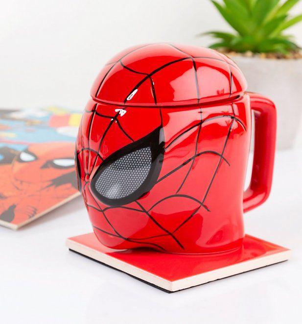 Caneca Homen Aranha 3D - Marvel
