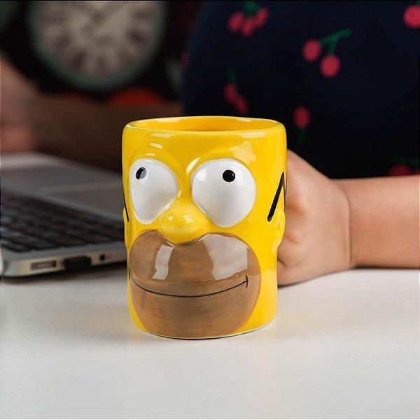 Caneca Homer Simpsons 3D - Simpsons