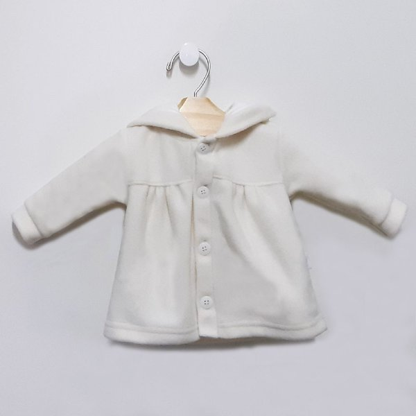 Casaco Soft Orelhinhas Off White