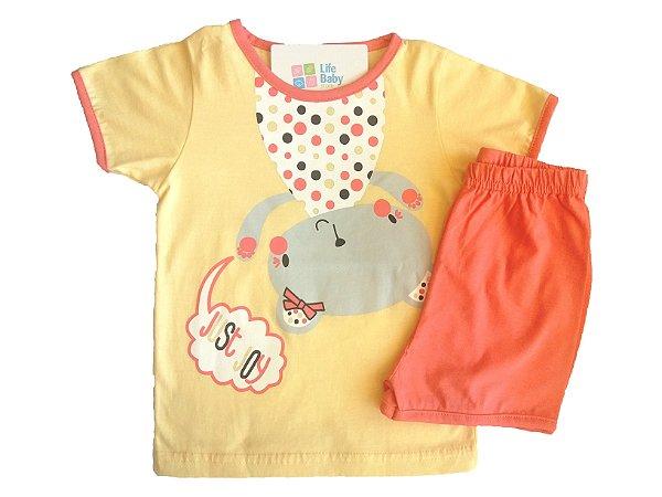 Pijama Curto Bear Joy