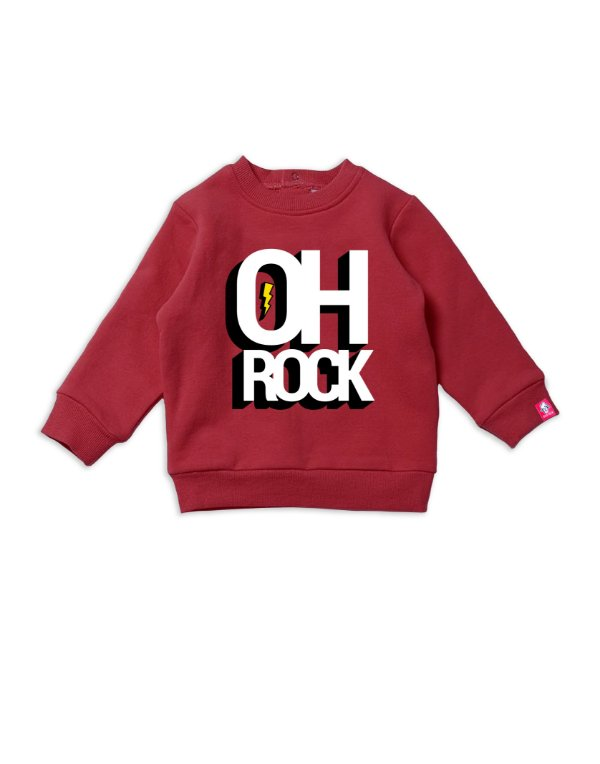Blusa Moletom Oh Rock