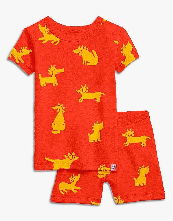 Pijama Curto Punkdog