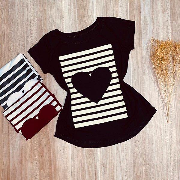 T-shirt Locked Heart
