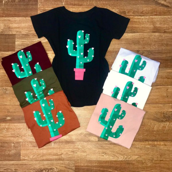 T-shirt Lovely Catus