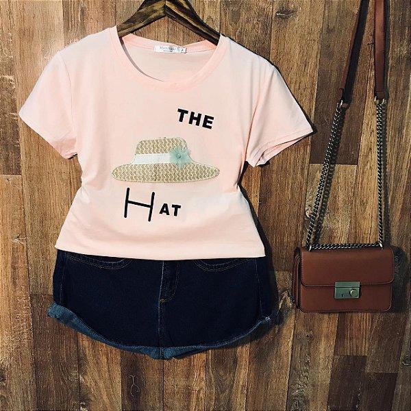 T-shirt Top The Hat Rosê