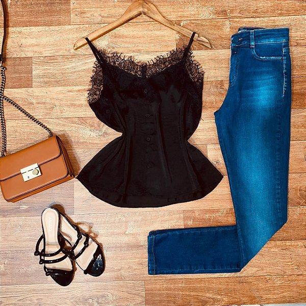 Calça Jeans Dardak Skinny 1298 Azul