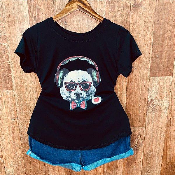T-shirt Urso DJ