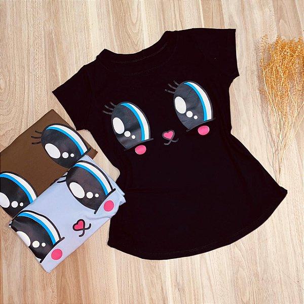 T-shirt Olhos Fofinhos