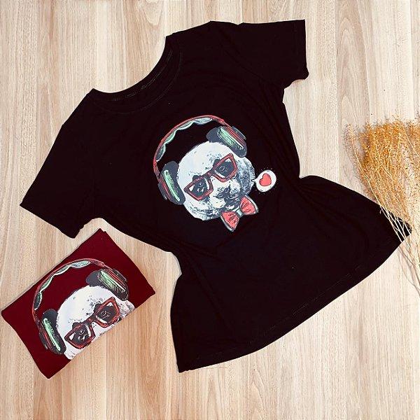 Camiseta Urso DJ