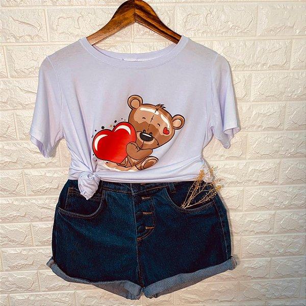Camiseta Ursinho Fofinho