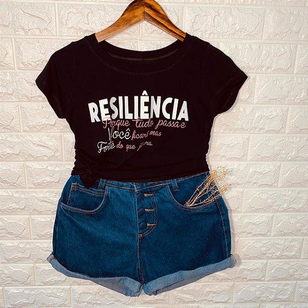 T-shirt Resiliência..