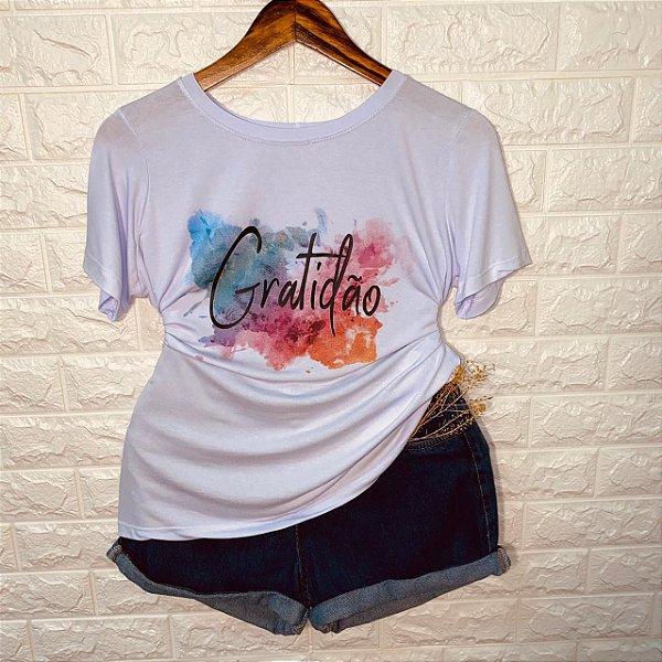 Camiseta Gratidão Fashion