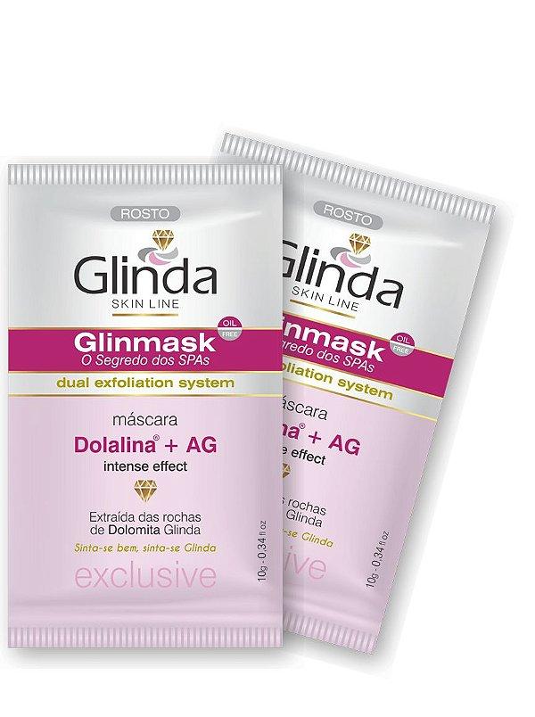 Glinmask - O segredo dos Spas- Duas unidades Máscara Facial Clareadora- Sachê