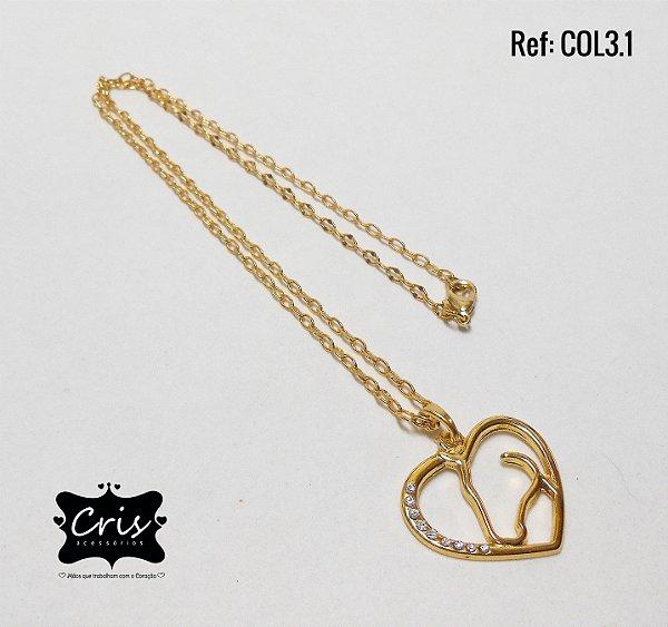 Corrente Dourada GAÚCHA ♥ CL.3