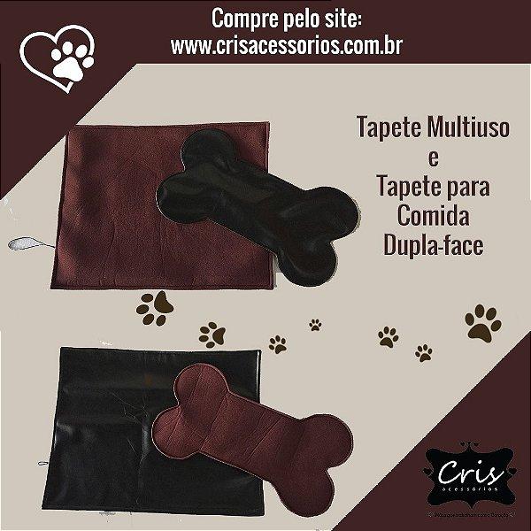 Tapete Multiuso e Tapete Comedouro para Cães e Gatos - 100% valor para Compra de Ração