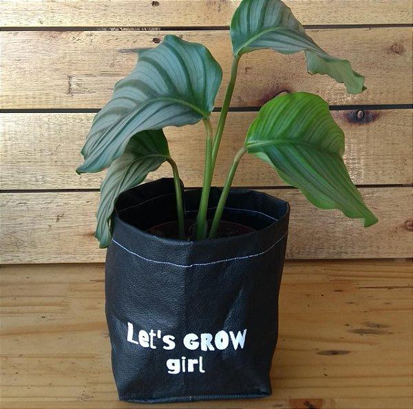 Cachepô Courino - Lets grow girl