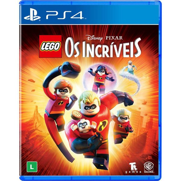 Game Lego Os Incríveis - PS4
