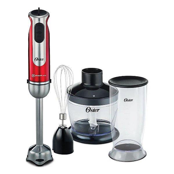 Mixer Oster High Power 2 Velo.Copo Dosador Vermelho 110v
