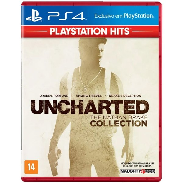 Game Uncharted The Nathan Drake Collection Hits - PS4