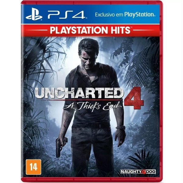 Game Uncharted 4 A Thief's End Hits - PS4
