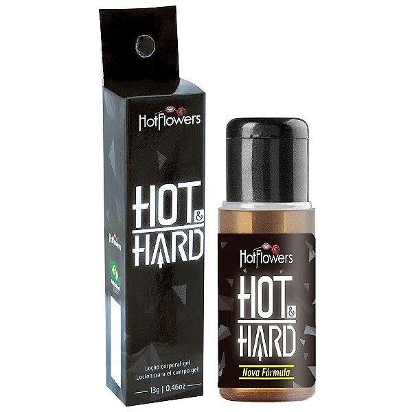 Hot Hard Gel - Provocador de Ereção Hot Flowers 13g
