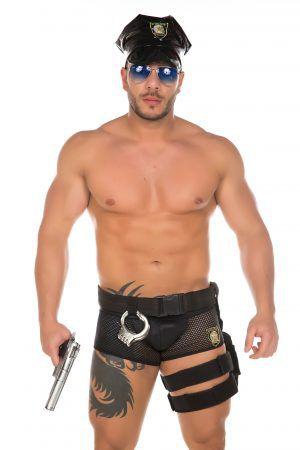 Fantasia Policial Masculina