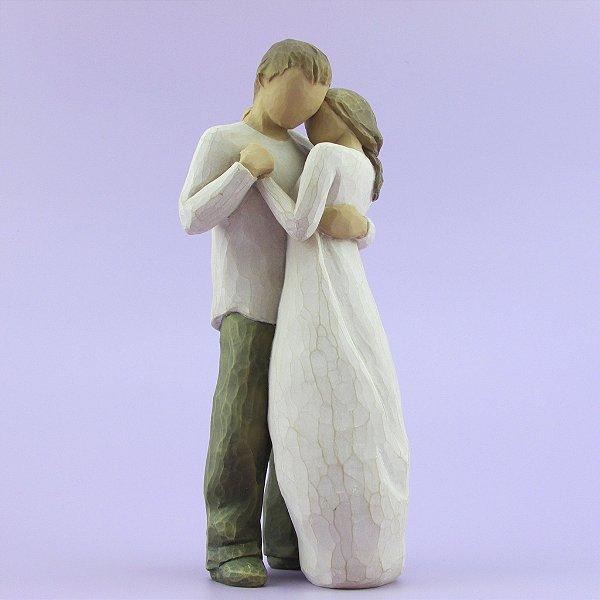 Noivinhos topo de bolo - Juntos