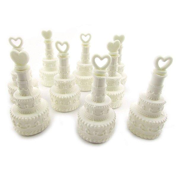 Bolhas de sabão - formato bolo de casamento