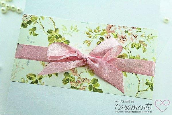 Convite Luva Floral (Luva)