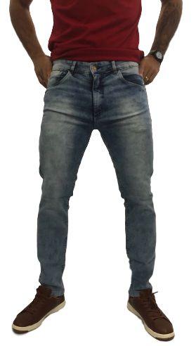 Calça Masculina Cintura Média Skinny