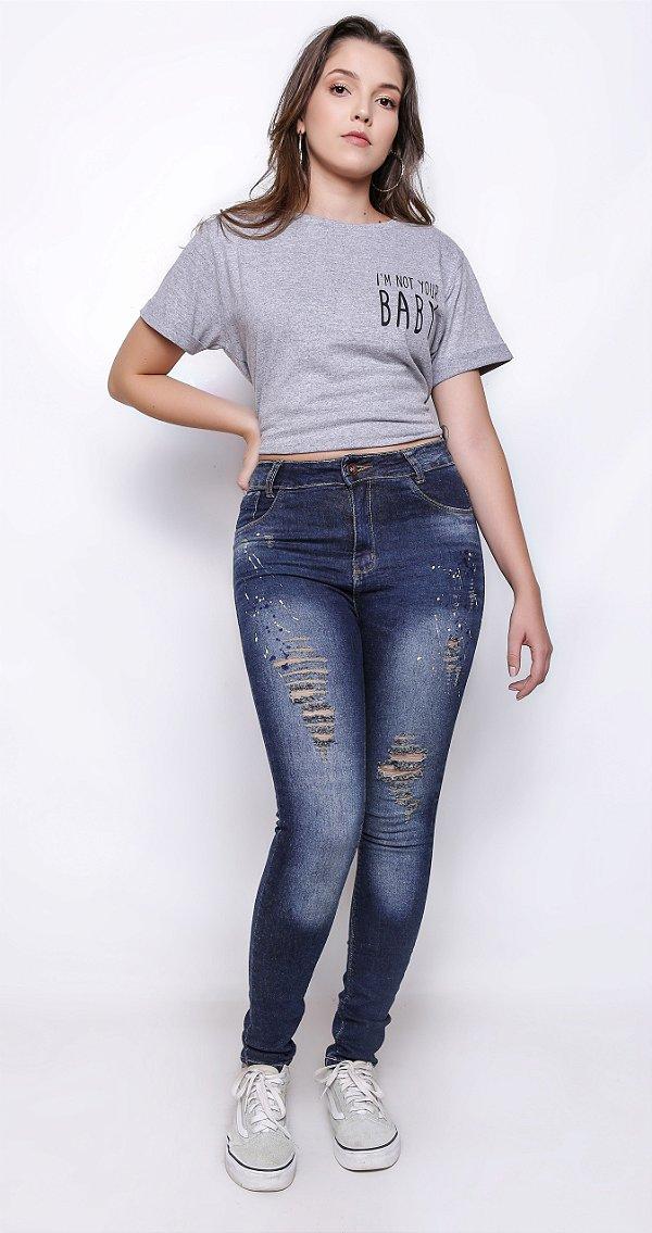f06d5b1ba5 Calça Feminina Hotpants Cigarrete Skinny - Natoon Jeans