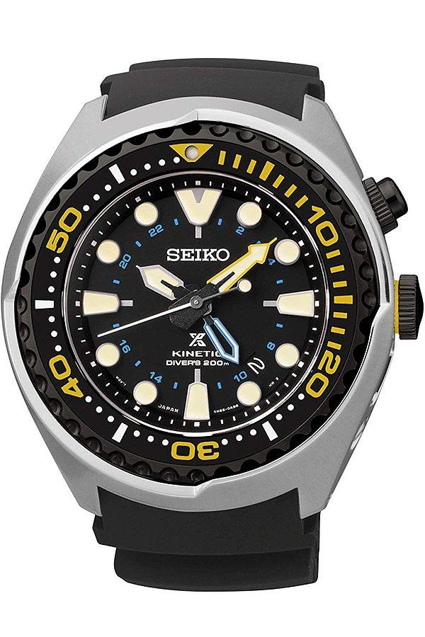 Relogio Seiko Prospex Kinetic Gmt Divers Sun021p1