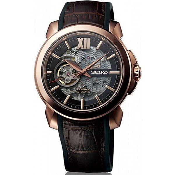 Relógio Seiko Premier Automático Novak Djokovic Ssa374j1 MADE IN JAPAN
