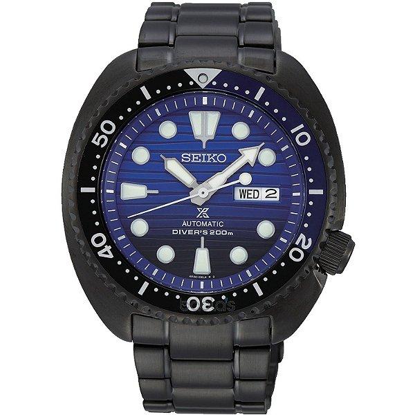 Relogio Seiko Prospex Turtle Save the ocean Automático Srpd11B1 Edição Limitada