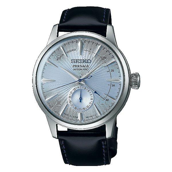 Relógio Seiko Presage Coquetel Ice Blue Automático SSA343J1 Made in Japan