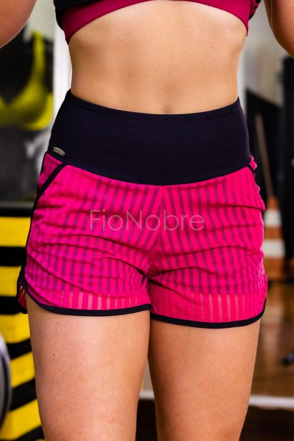 SHORT DUAL FITNESS - PINK