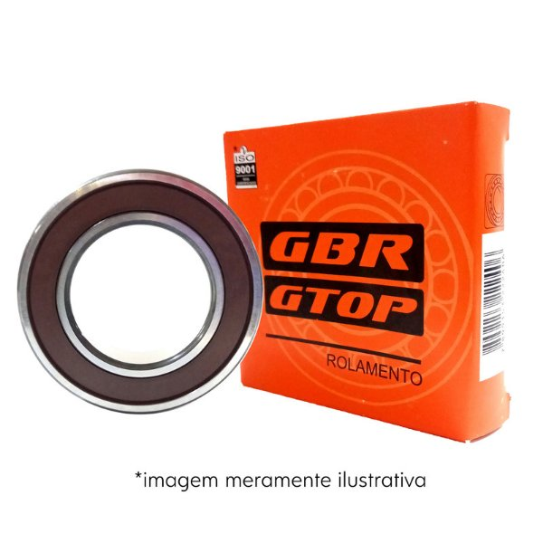 ROLAMENTOS 6200 -2RS DDU  10x30x9 GBR
