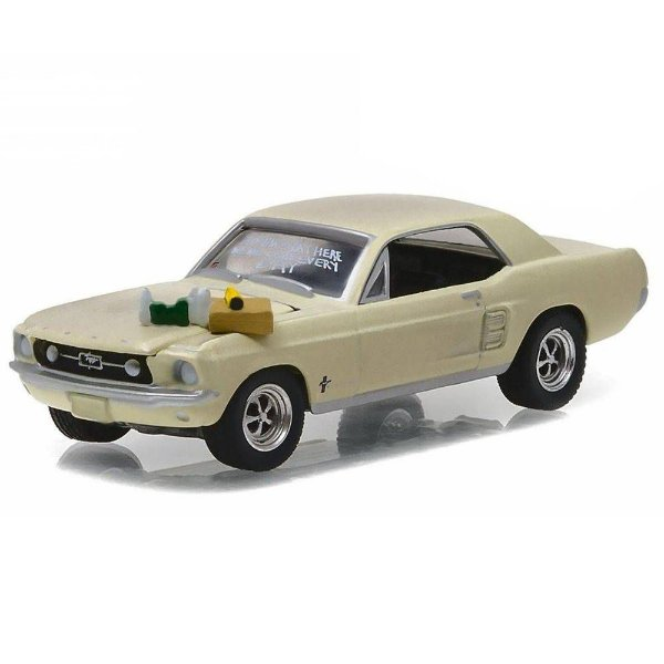 CALIFORNIA COLLECTIBLES SERIE 03 1/64 FORD - MUSTANG COUPE 1967 TWD