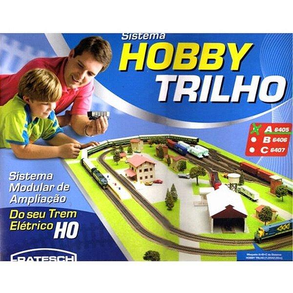 """HOBBY TRILHO CAIXA """"A"""" - 6405 - FRATESCHI - HO 1/87"""