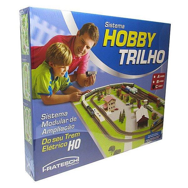 """HOBBY TRILHO CAIXA """"C"""" - 6407 - FRATESCHI - HO 1/87"""