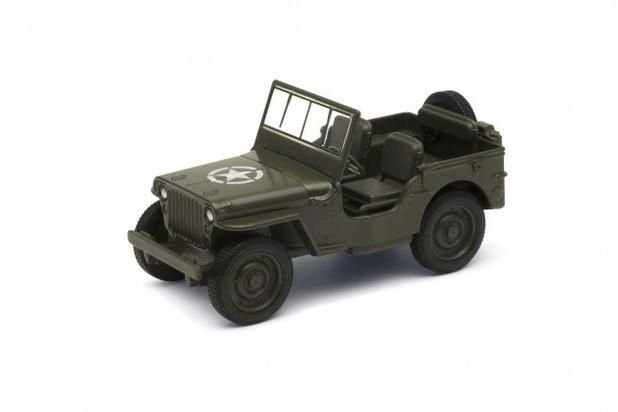 1941 JEEP WILLYS PULL BACK