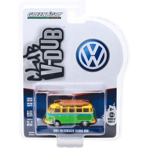1964 VW KOMBI BUS COM PRANCHA VEE 1/64