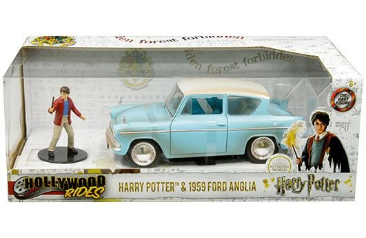 VEICULOS METAL DIECAST HARRY POTTER 1969 FORD ANGLIA 1/24