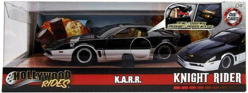 VEICULOS METAL DIECAST KNIGHT KARR SUPER MAQUINA 1/24