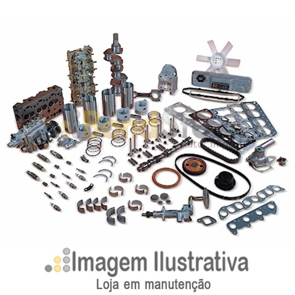 Kit Corrente Parcial (Corrente, Guia Lateral (2) Tensor 30mm) Corolla 1.8 16v 01/02 1zzfe / Corolla